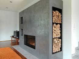 Modern Wandgestaltung Kamin Erstaunlich Auf Moderne Deko Ideen
