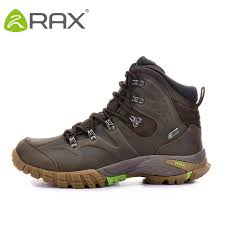 rax 2019 mens waterproof hiking boots genuine leather hiking shoes