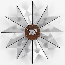 Vitra Flock Of Butterflies Modern Wall Clock