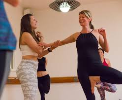 a cl at ohana in our yoga and barre studio in highlands denver