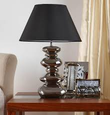 large size of table lamps hammered metal table lamp rustic black table lamps the range