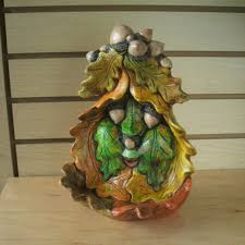 fall office decorations. Thanksgiving Decoration Green Man Women Fall Leaves Patio Decor Candy Dish Wall Office Decorations