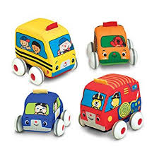 toy cars and trucks. Melissa \u0026 Doug K\u0027s Kids Pull-Back Vehicle Set - Soft Baby Toy With Cars And Trucks R