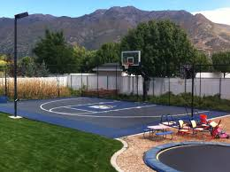 backyard ideas basketball court. backyard basketball court explore pictures on excellent half cost ideas in small building b