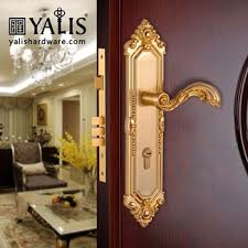 Front Door Locks Types Handle And Cylinder Lock Screw Cover Plate In Dubai