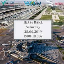 Vatsim Iran Vacc City Shuttle Ika To Baku