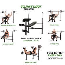 Leg Press Chart Tunturi Weight Bench Wb60