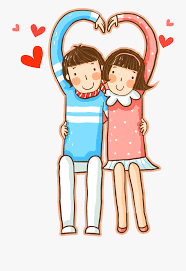 Cute Couple Png Significant Other Cartoon Heart Cute Couple Transprent