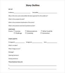 Simple Story Outline Template Sample Book Outline Format Magdalene Project Org