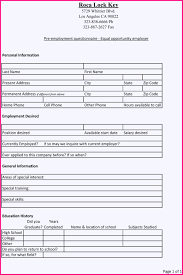 application form for employment generic employment application form printable online