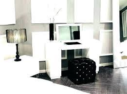 White Bedroom Vanity Large White Bedroom Vanity With Drawers ...