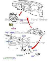 ford f250 trailer wiring harness wirdig oem dash trailer brake controller wiring harness 2004