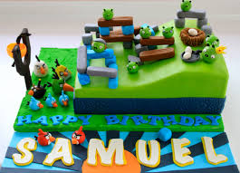 Celebrate with Cake Playable Angry Birds Cake