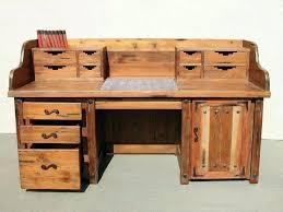 old office desk. Old Office Desks. Desks Wood Rustic Corner Desk L Shaped Style Home Image