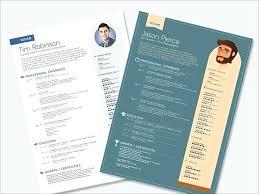 Modern Resume Templates Free Download Pdf Cv Template Download