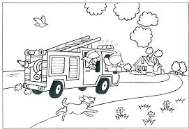 Fire Truck Coloring Page Fire Truck Coloring Pages For Kids