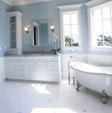 Bathroom:Fancy Bathroom Paint Finish With Blue Sky Color Wall Idea Best  Paint Finish For