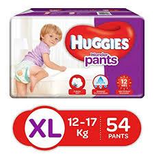Huggies Wonder Pants Diapers Extra Large Pack Of 54