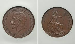 Rare British Penny Coin Set To Fetch 115k At Auction Uk