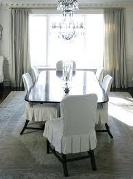 white slipcovered dining chairs white elegant dining chair slipcover slipcovers dining chair with theme color white white slipcovered dining room chairs