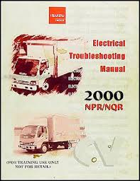 1999 2001 diesel chassis repair shop manual orig npr nqr w3500 related items