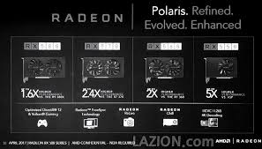 Amd Radeon Rx 500 Series Official Specifications And
