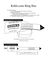 Top 5 Awesome As Well As Attractive Printable Ring Sizer For