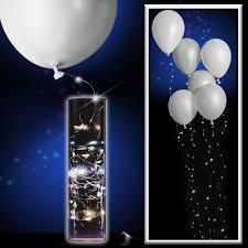 String Light Balloon White Balloons With White String Lights