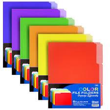 file folders.  Folders Color File Folders 6Pk Throughout Folders