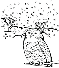 winter animals coloring pages winter animals coloring pages snowy owl page print snow printable winter animals winter animals coloring pages