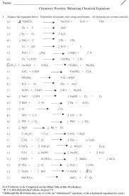 balancing chemical equations worksheet 2 answer key chemistry astounding worksheet writing