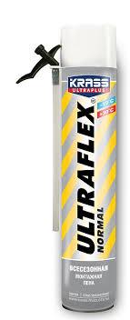 Купить <b>Пена монтажная</b> Krass Ultraflex всесезонная с доставкой ...