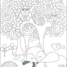 Wildlife Coloring Pages Printable Farm Page Animals Animal For