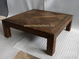 simple wood coffee table designs photo 1