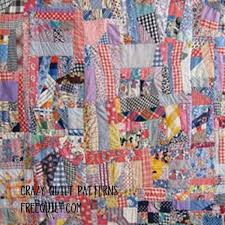 17 Best images about Crazy quilt ideas on Pinterest | Crazy block ... & Free Crazy Quilt patterns are a fun way to use up scraps and remnants.  These patterns can be enlarged or reduced to fit your project and are great  for ... Adamdwight.com