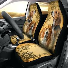seat cover set for car beagle car seat covers set of 2 car seat cover set