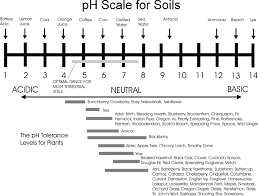 Douglas Fir Growth Chart Chart Of Soil Ph And Examples Of Plants That Thrive In The