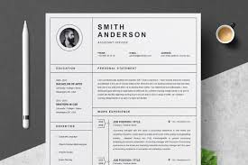 Clean Professional Resume Template Resume Templates Creative