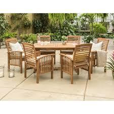 manor park outdoor patio dining set 7