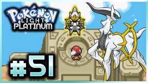 How To Catch All Legendary Pokemon In Light Platinum Lets Play Pokemon Light Platinum Part 51 Arceus Zekrom Reshiram Kyurem Shaymin