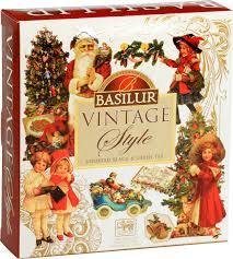 <b>Basilur Vintage Assorted</b> подарочный набор, 40 шт — купить в ...