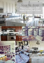 Chalk Painting Kitchen Cabinets Custom Design Inspiration