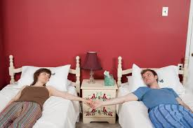 Fun Bedroom For Couples Honey I Love Youbut We Need Separate Beds Pov Ozy