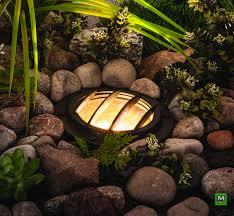 Mushroom Solar Light Menards This Patriot Lighting Low Voltage Led Well Light Is Crafted