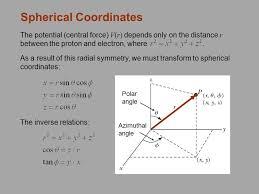 3 spherical coordinates