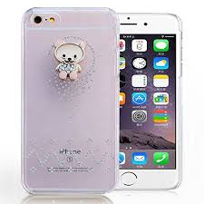 iphone 5s gold case for girls. iphone 5s/se - glossy semi hard shining teddy diamond crystal stone transparent \u0026 bling glitter beautiful girls back cover gold iphone 5s case for n