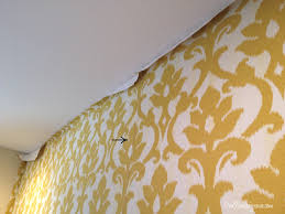 Small Picture Fabric Wall Designs With Others Overlapping Seams On Hanging