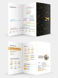 Awesome Graphic Design Resumes Creative Resume Templates 16 Examples To Download Guide