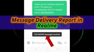 Dilivery Report Turn On Message Delivery Report In Realme