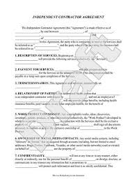 Contractual Agreement Template Sample contractual agreement necessary screenshoot independent 2